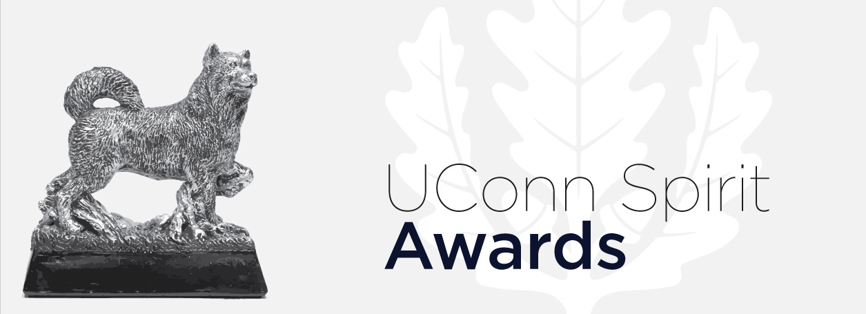 UConn Spirit Awards Banner